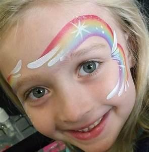 Maquillage Enfant Facile : maquillage enfant face painting unicorn girl ~ Melissatoandfro.com Idées de Décoration