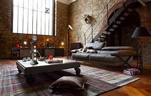 Canapé Style Industriel : meuble style industriel les meilleurs pour votre int rieur ~ Teatrodelosmanantiales.com Idées de Décoration
