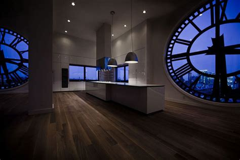 Clock Tower Penthouse Apartment in Brooklyn, New York