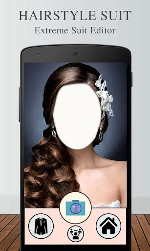 bridal hairstyle suit editor google play