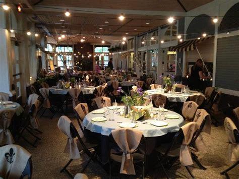 outdoor wedding ceremony amphitheater indoor reception