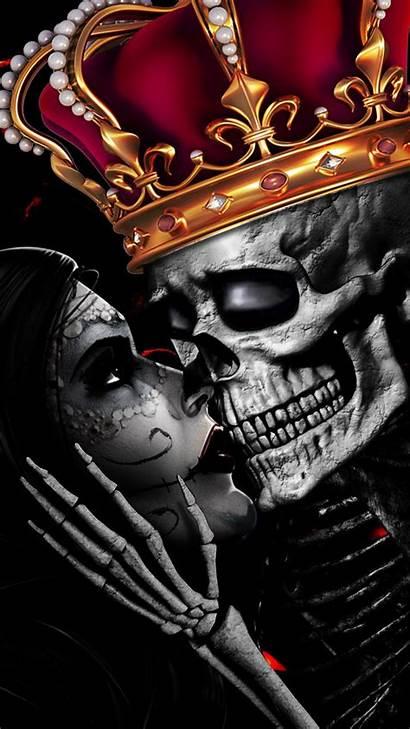 Skull King Romance Eternal Crown Skulls Fantasy