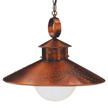 country pendant lighting for kitchen country kitchen rustic copper pendant hanging barn light 8471
