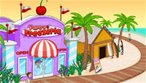 papa freezeria jeu de restaurant jeux 2 cuisine html5