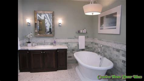 White Bathroom With Color Accents by Grey Bathroom Accent Color