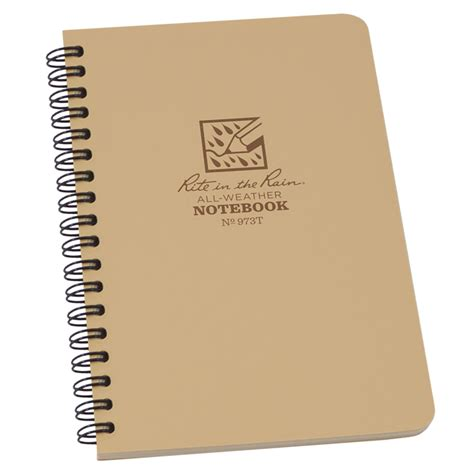 Akhwat Spiral Notebook rite in the no 973t side spiral notebook