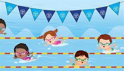 Swim Lessons Class Club Level Swimming Pool