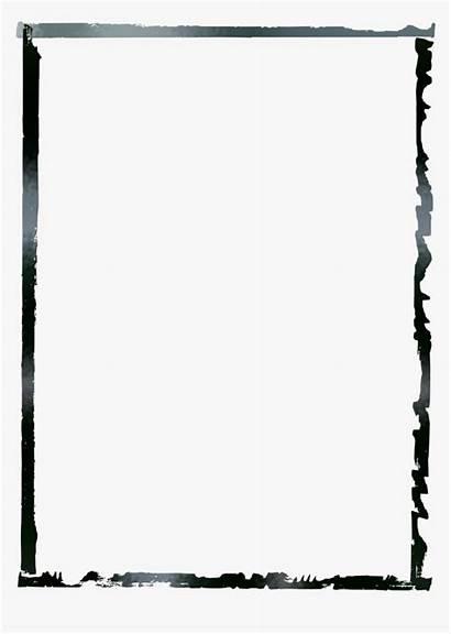 Grunge Frames Borders Clipart Border Kindpng