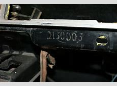 missing VIN from chassis Page 3 Pelican Parts