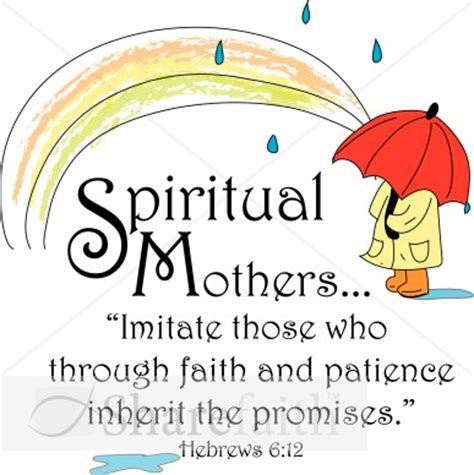 spiritual mothers  hebrews verse womens ministry word art