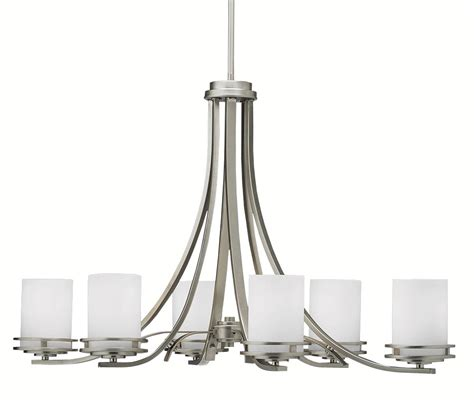 lighting and chandeliers kichler 1673ni hendrik six light oval chandelier