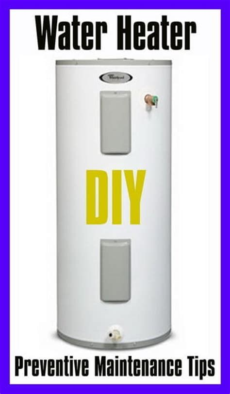 Water Heater Preventive Maintenance Tips Us3