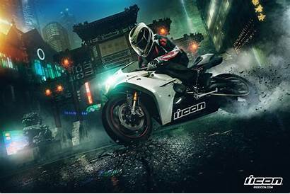 Icon Wallpapers Hooligan Motorsports Bsnscb Px Behance
