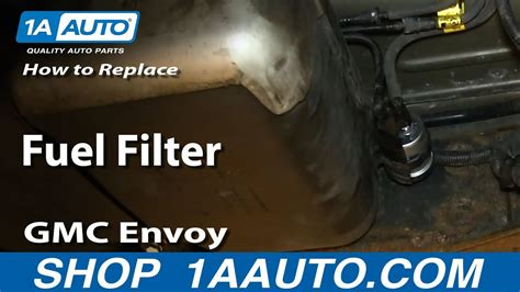 2003 Yukon Fuel Filter by How To Install Replace Fuel Filter 2003 08 Gmc Envoy Xl