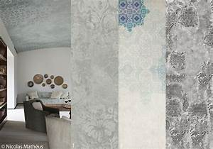 revgercom papier peint effet mur vieilli idee With maison brique et bois 18 papier peint vinyle graine intisse effet mur de briques aedan