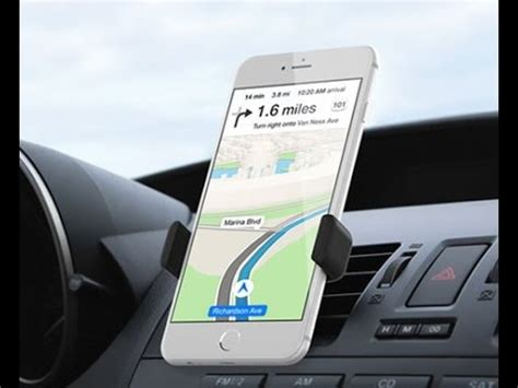 best iphone car mount kenu airframe review youtube