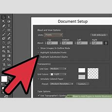 How To Add Pages In Adobe Illustrator 5 Steps (with Pictures