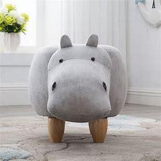 Hippo Stool  Pouf Poire Taburetes Chair Wood Stools