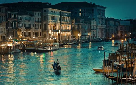 Venice Italy The Grand Canal Pictures Hd Wallpaper