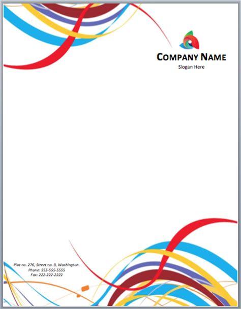 letterhead templates word templates