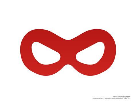 printable superhero mask templates   superhero