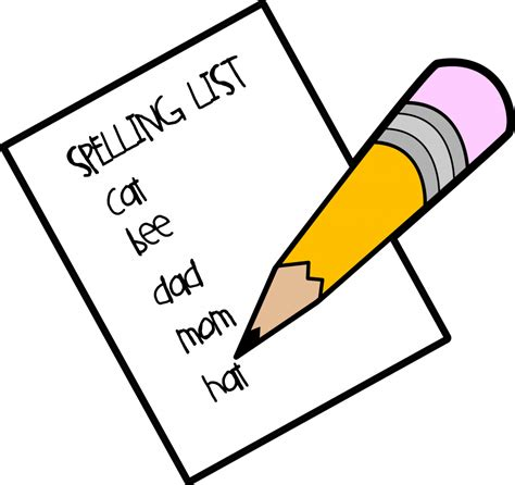 Spelling Clip Spelling Clipart Clipartion