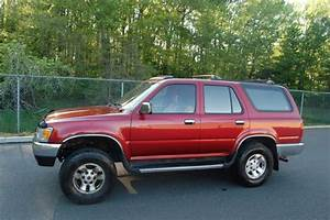 1994 Toyota 4runner Sr5 5 Speed Manual 4x4   No Reserve