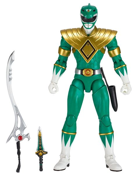 Bandai Mighty Morphin Power Rangers Legacy Green Ranger ...