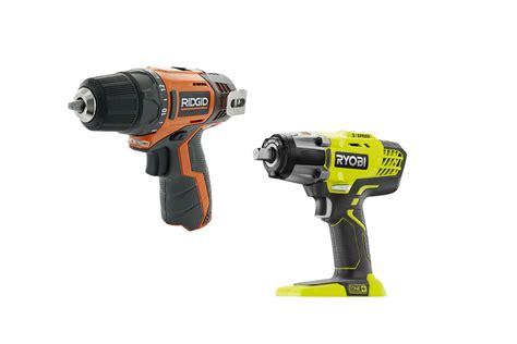 ryobi  ridgid power tools  diy consumers