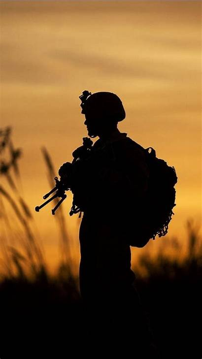 Military Soldier Iphone Wallpapers Army Mobile Gun