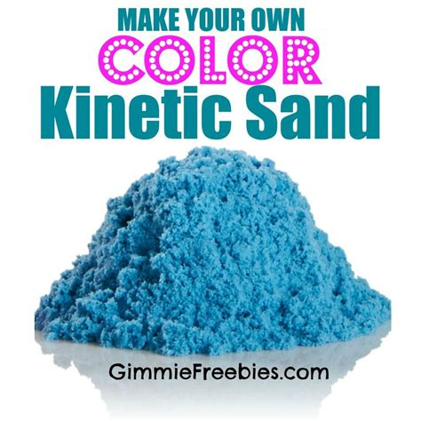 colored kinetic sand make your own colored kinetic sand 10 lbs for 50 cents