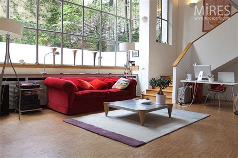 chambre loft atelier d artiste style déco c0558 mires