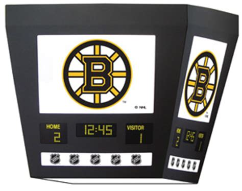nhl square scoreboard hanging light all sports