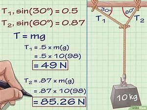 Seilkraft Berechnen : spannungen spannkr fte in der physik berechnen wikihow ~ Themetempest.com Abrechnung