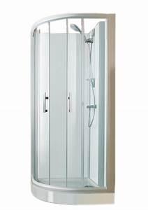 Rideau De Douche Transparent : espace douche quart de rond access confort 91x91 portes ~ Dailycaller-alerts.com Idées de Décoration