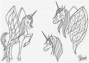 Unicorns With Wings Drawings | www.pixshark.com - Images ...