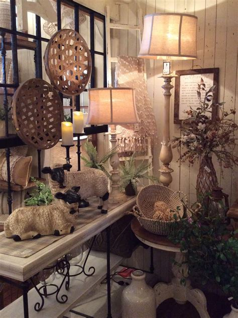 Rustic Home Accessories & Country Home Decor