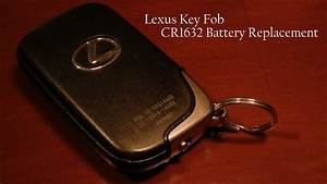 Batterie Lexus Is 250 : lexus key fob battery replacement quick easy youtube ~ Jslefanu.com Haus und Dekorationen