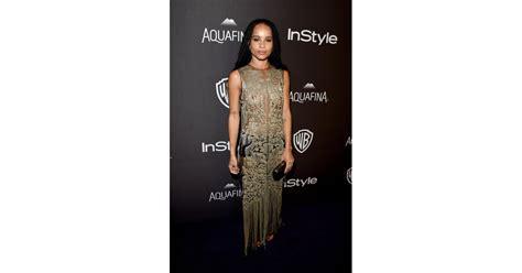 Pictured: Zoë Kravitz | Celebrities at Golden Globes ...