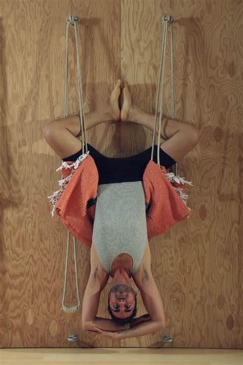 Reasons Try Rope Wall Yoga Mindbodygreen