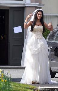 georgia salpa in a wedding dress a publicity stunt surely With wedding dresses for big boobs