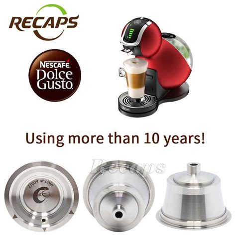 buy dolce gusto coffee capsule stainless