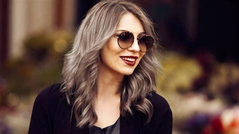 neue haarfarben trends neue trend haarfarbe 2015 bei frauen ist grau