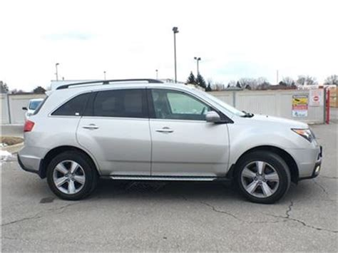 2012 acura mdx sh awd running boards leather