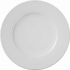 Service Assiette Design : vaisselle assiette plate design blanche suite d 25 cm ~ Teatrodelosmanantiales.com Idées de Décoration