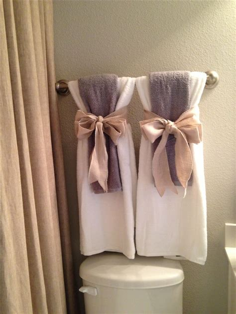 bathroom towel hanging ideas towels ideas for bathroom decor