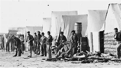 Camp Union Soldiers 1865 Artillery Playing Ball