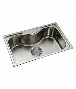 Buy Radium Silver Stainless Steel Sink Online at Low Price ...
