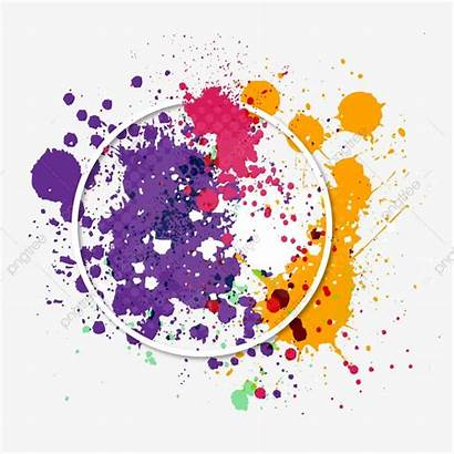 Splash Background Colors Festival Holi Clipground