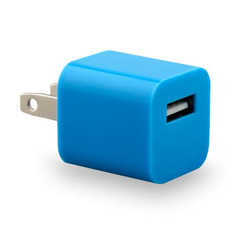 iphone cube charger eco usb travel charger cube universal blue